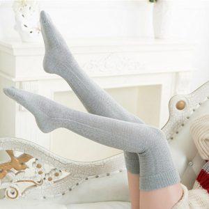 Knee Socks, Women's Cotton Thigh High Over The Knee Stockings, Ladies, Girls, Warm Long Stocking Sexy