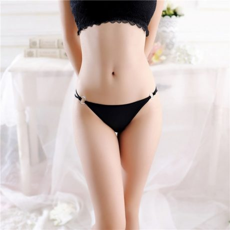 Thin Thong Panties, Sexy Briefs, Seamless Cotton Thong, Women's Panties, G String Underwear 3