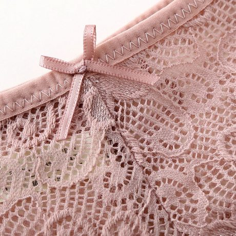 3pcs/lot, Sexy Lace Panties, Women's Fashion Cozy Lingerie, Tempting Pretty Briefs, Cotton Low Waist, Cute Women Underwear 3