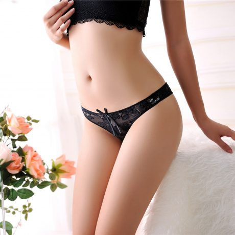 Hot Sale New Women Sexy Lace Panties Breathable Seamless Briefs Hollow Women Underwear 1