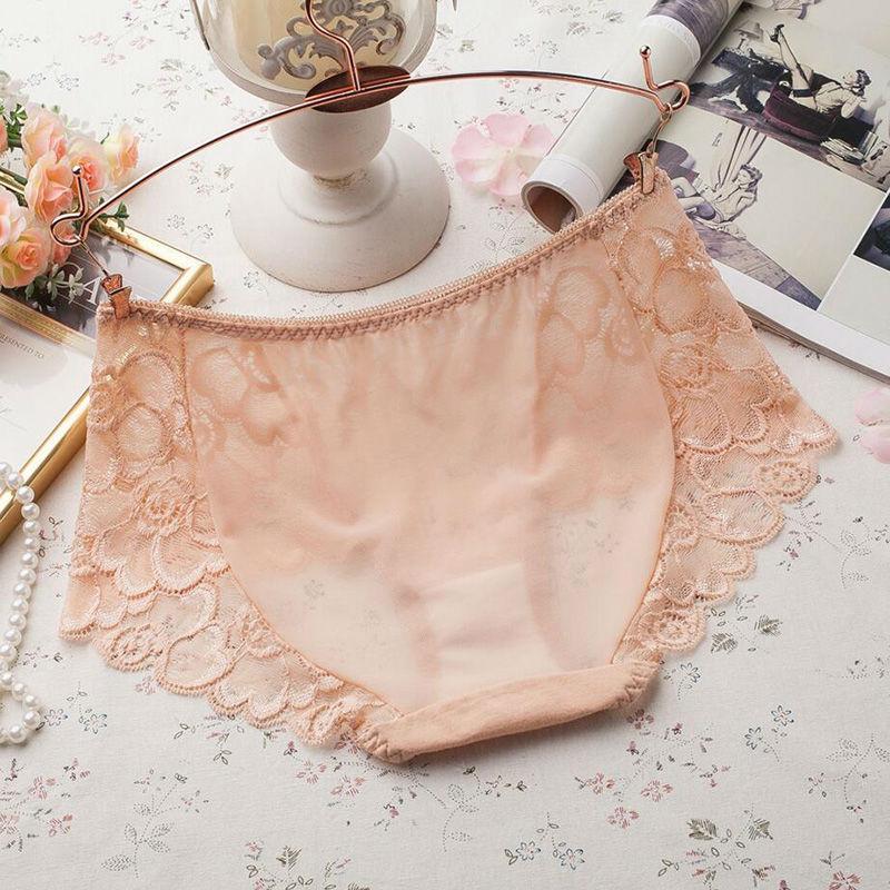 Women's Underwear, Sexy Lace Panties, Hollow Out Briefs, Mid Rise, Female Lingerie Underpants 2