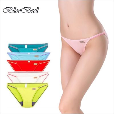 Sexy Women's Panties, Seamless Modal, Tanga Super Low Rise Bikini Lingerie, Girl Thong